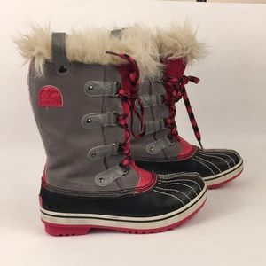 Sorel Joan of Arctic  Boots Girl's Youth Size 3